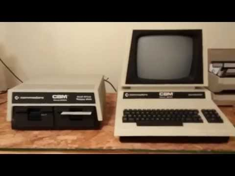 VisiCalc on the Commodore PET