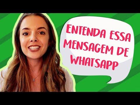 Mensagens para whatsapp - Será Que Essa Mensagem de Whatsapp que Eu Ensino Funciona? (Luiza Vono)