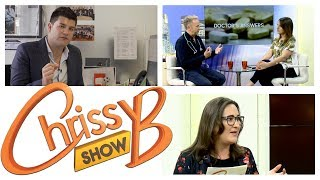 http://www.chrissybshow.tv16.06.17 - EP063What's every day life like for a successful business person? We take an exclusive look at a typical day in the life of Apprentice winner and business partner to Lord Sugar Mark Wright. We'll also be joined by Helena Chard, giving us the week's positive news in Behind the Fame, and Dr Rob Hicks answers all of your medical questions in Dr's Answers. Chrissy also gives you her tips on how to be a great mentor.The Chrissy B Show airs on SKY 203 every Monday, Wednesday and Friday at 10pm in our cosy living room studio in the heart of London.For more information visit www.chrissybshow.tvFacebook: The Chrissy B Show Twitter: @chrissybshowFollow the presenter on Instagram: chrissyboodramy B Show airs on SKY 203 every Monday, Wednesday and Friday at 10pm in our cosy living room studio in the heart of London.For more information visit www.chrissybshow.tvFacebook: The Chrissy B Show Twitter: @chrissybshowFollow the presenter on Instagram: chrissyboodram