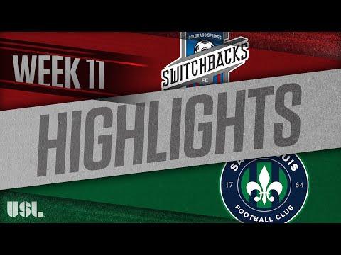 Колорадо Спрингс - Saint Louis FC 3:0. Видеообзор матча 27.05.2018. Видео голов и опасных моментов игры