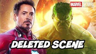 Avengers Endgame Hulk Ending Scene - Deleted Scenes and New Hulk Marvel Movies Breakdown