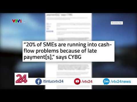 """""""Chậm thanh toán"""" ảnh hưởng như thế nào tới nền kinh tế?  VTV24 - Thời lượng: 3 phút, 6 giây."""