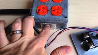 Dual 20 amp 120V Solid State Relay Box build