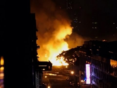 raw - A series of gas explosions on the streets of a southern Taiwanese city killed more than a dozen people and injured scores more Thursday night. (July 31) Subscribe for more Breaking News: http://sm...