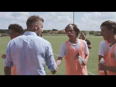 Behind The Scenes: Mas And Beckham Visit #InterMiamiCF Academy Training