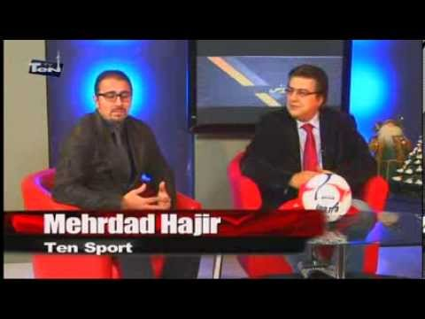 Sport Program in Ten TV by Mehran and Mehrdad part 1