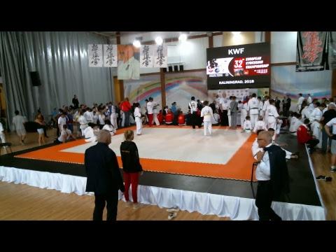 32'nd European Kyokushin Championship - Kaliningrad 21.09.2018 - 22.09.2018