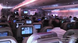 Emirates A380- 800 Amazing Takeoff From Dubai to London & Night Landing At Heathrow
