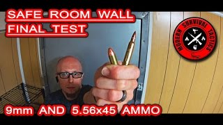 WARNING: This is not a video about building a bullet proof wall! It is the final overview of our safe room project with the ballistic wall test. We used 9mm and 5.56x45 ammo for this test. The wall was not constructed by any manual or with professional materials. We can say we were pleased with the results.FOR ALL VIEWERS WHO WANT TO COMMENT: We know steel would be the best, but it is also at the highest price level. If we would like to build a bullet proof wall/room it would be the same structure as bunkers at WW2, but the budget did not allow such a project. The wall bullet tests were added to the video at the last minute almost as a bonus.------------------------------------------------------------------------------------------------------FOR MUCH MORE VISIT:http://www.modernsurvivaltactics.comhttp://www.store.modernsurvivaltactics.comhttps://www.google.com/+MODERNSURVIVALTACTICS