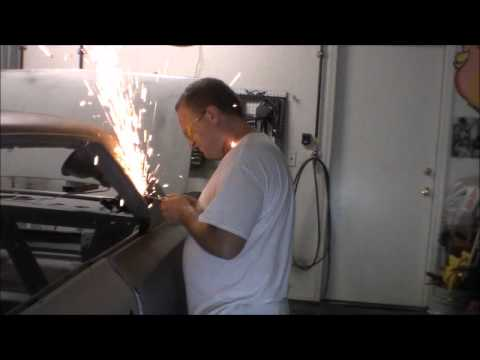 Removing Quarter Panel Restoration of a 1966 Chevy Nova SS MUSCLE CARS & HOT RODS
