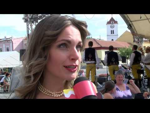 TVS: Strážnice - Petrovský dechovkový festival se spojil se Strážnickým Dostaveníčkem