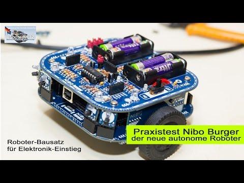 NIBO Burger - Autonomer Roboter Bausatz im Test