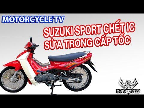 Video 97: dạy sửa xe cách cứu suzuki sport 120 chết IC trong 1 nốt nhạc. Rẻ bền đẹp - Thời lượng: 7 phút, 16 giây.