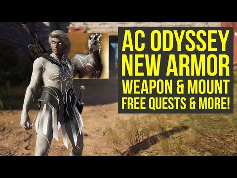 Assassin's Creed Odyssey Celestial Pack - NEW ARMOR, Weapon, Quests & More! (AC Odyssey Celestial)