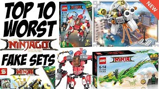 There are MANY LEGO Ninjago Movie FAKE Sets. This video contains 10 of the worst IN MY OPINION! (Yours may be different)...