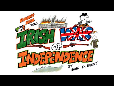 Irish War of Independence in 12 Minutes - Manny Man Does History