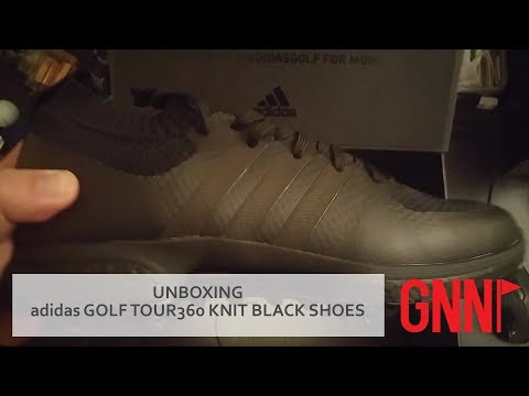 UNBOXING: adidas Golf Tour 360 Knit Special Edition Black