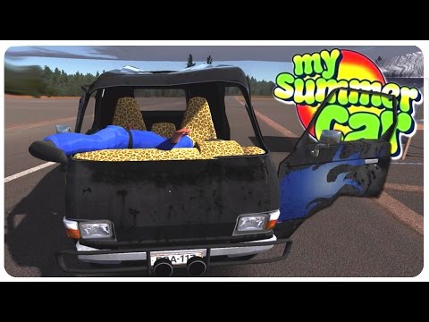 Police Hit n' Run + Custom Van Mod! - My Summer Car Gameplay | Funny Moments #8
