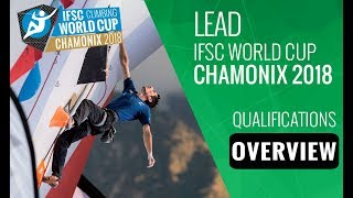 IFSC Climbing World Cup Chamonix 2018 - Lead Qualifications Overview by International Federation of Sport Climbing