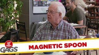 Magnetic Spoon Prank
