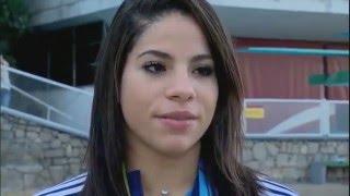 Ingrid Oliveira sofre após ter zerado salto ornamental em Pan 2015