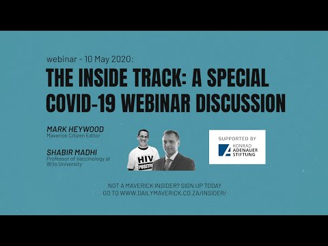 Webinar: The Inside Track - A Special Covid-19 webinar discussion