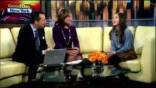 Carly Rose Sonenclar Interview to Fox s  Good Day NY    Sep 24th  2012