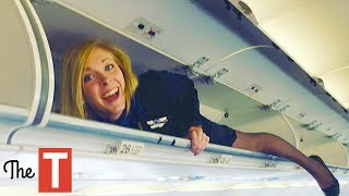 Video 10 STRANGE Requirements To Work As A Flight Attendant MP3, 3GP, MP4, WEBM, AVI, FLV Agustus 2018