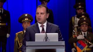 Celebration of 26th Anniversary of Armenian Armed Forces