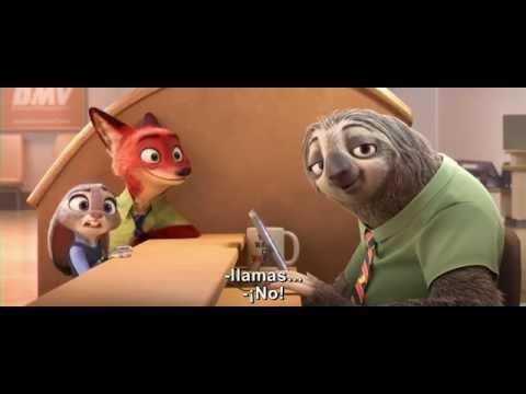 Zootopia: La nueva película de Disney. ¡Los osos perezoso son lo más!