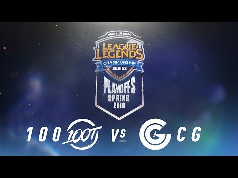100 vs. CG   NA LCS Spring Playoffs   Semifinals Game 5   100 Thieves vs. Clutch Gaming