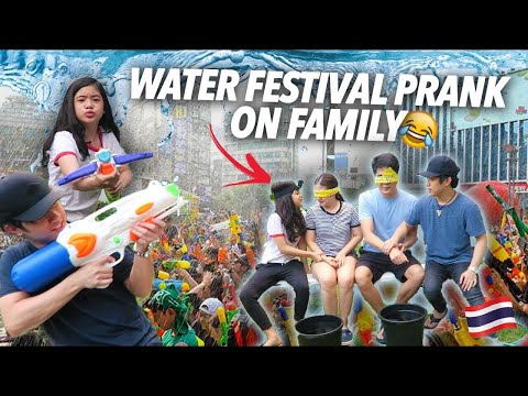 Download Lagu Water Festival Prank On Family (They Have No Idea) | Ranz And Niana Music Video