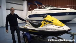 1. Kawasaki STX 900 Jet Ski For Sale UK -- Review & Engine Test By GulfStream Boat Sales