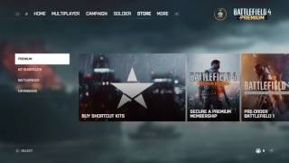 Nuova interfaccia Battlefield