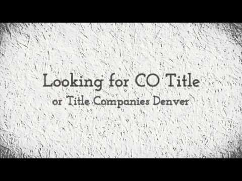 (970) 658-9120 | CO Title & Title Companies Denver @ American Title Services, Fort Collins