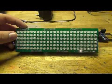 13.05.01 - 24x6 LED Matrix Display