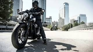 7. 2018 Triumph Bonneville Bobber Black Revealed | available in Jet Black or Matt Black paint