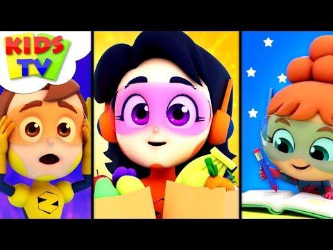 In A Minute | The Supremes Cartoons | Kindergarten Videos For Children - Kids Tv