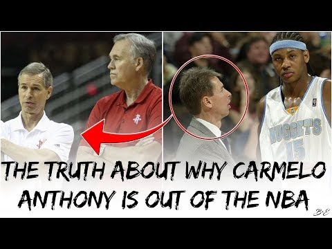 The Truth About Why Carmelo Anthony Is Out Of The NBA