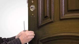 Remove Old Mortise Lock