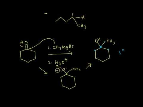 Synthesis Of Alcohols Using Grignard Reagents I Video
