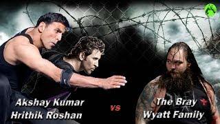 Akshay Kumar & Hrithik vs Bray Wyatt Family WWE 2K Full Match Higlights HD PC PS4 game