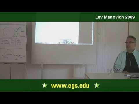 Lev Manovich. Interaktivität und Dialog in neuen Medien 2009 11.03