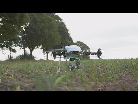 Τα drones «δουλεύουν» για τους αγρότες – hi-tech