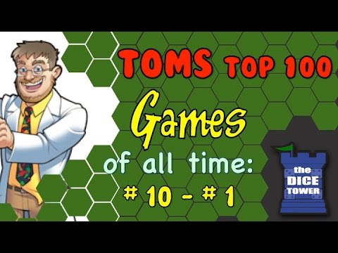 Tom - The final video of Tom's Top 100 Games of all Time! Buy great games at http://www.coolstuffinc.com Find more reviews and videos at http://www.dicetower.com.