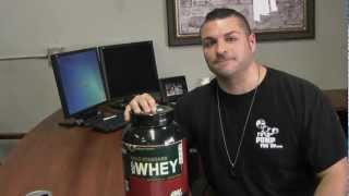 Optimum Nutrition 100 Percent Gold Standard Whey Protein Product Review