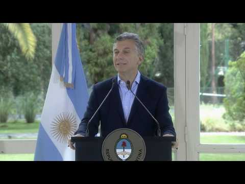 El presidente Macri anunció medidas para reforzar el Plan Nacional de Vivienda