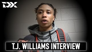 T.J. Williams Interview at the 2017 Portsmouth Invitational Tournament
