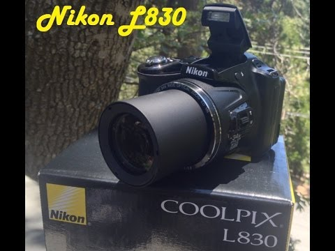 Unboxing Nikon Coolpix L830 Sample Video & Pics