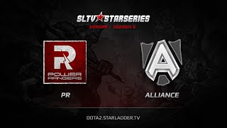 Alliance vs PR, game 1